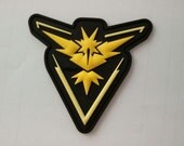 Deluxe Team Instinct version 1 pvc morale patch with hook and loop velcro backing PREORDER-eta AUG 1