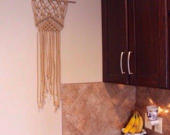 Vintage Gold Rope~ Wall Hanging