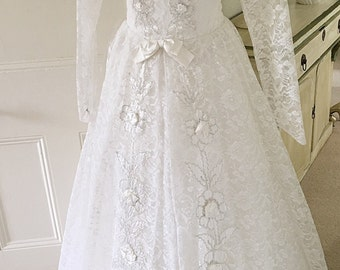 X large white dresses etsy