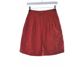 Gap Womens Short Size 2 W22 Red Cotton