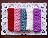 Winter knitted headband, Winter Ear Warmer, Knitted Ear Warmer, Knitted Head Wrap, Chunky Knitted Winter Head band