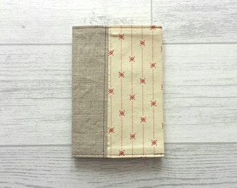 Fabric Passport Cover - Travel - Linen - Holidays