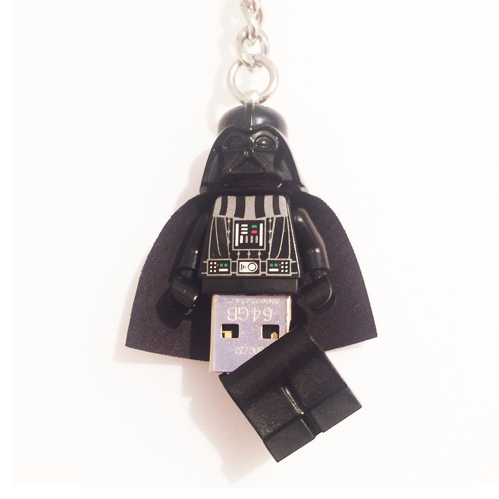lego star wars usb darth vader minifig keychain. Black Bedroom Furniture Sets. Home Design Ideas