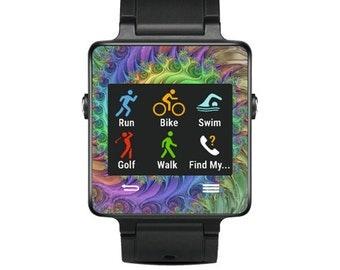 Skin Decal Wrap for Garmin Vivoactive Forerunner Watch cover sticker Tripping