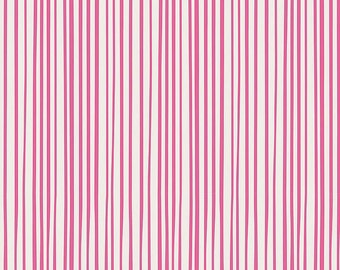 Fabric by the Yard - Modern quilt fabric - Streakly Business Blush - Art Gallery Fabric - Pink Fat Quarter Bundle - Pink Striped Fabric