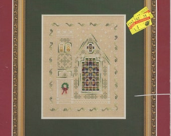 A Christmas Church Cross Stitch Book  (1996)