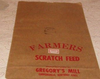 Vintage Kentucky Feed Sack