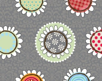 Funky Flowers - Grey - from Adornit