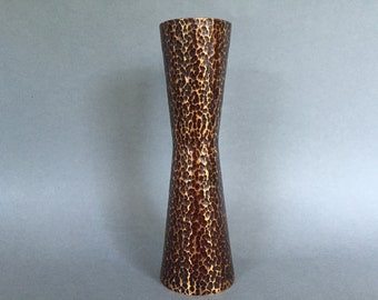 Vintage Mid Century Modern stylish  Copper Diabolo vase from the 1960s / 1970s. Denmark / Germany.
