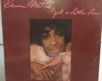 Carmen McRae, Just a Little Lovin', Vintage Record Album, Vinyl LP, American Jazz Singer, Composer, Actress, Torch Singer