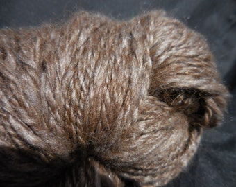 Soft Alpaca and Silk Handspun Yarn, No Dyes