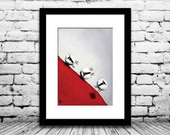 """""""Quickest Way Down"""" (Limited Edition Print)"""
