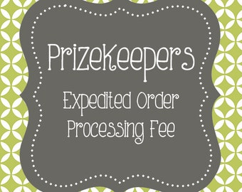 EXPEDITED ORDER PROCESSING Fee