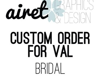 Custom Bridal Flask For Val