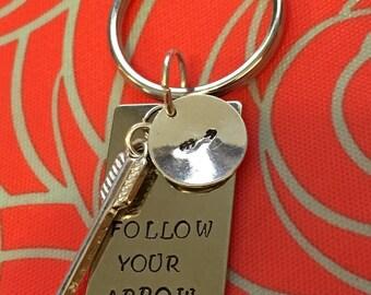 Follow your arrow keychain