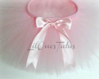 Light Pink Tutus / Baby Pink Tutus - One year Old - tutu skirt - birthday - occasions - toddlers - kids tutu