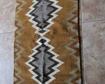 "Navajo Style Rug 21 1/2"" x 43 1/2"""