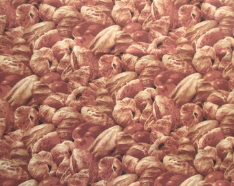 Baked Bread Fabrics - Kyle's Marketplace RJR - OOP -  1 Yard Only