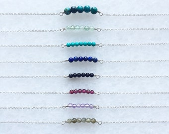 Smooth pebble bracelet