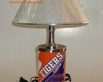 Clemson Tigers Electric Desk Lamp