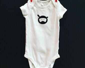 Ninja | custom baby gifts | baby onesie