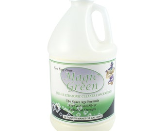 Magic Green Ultrasonic Cleaning Solution Concentrate 2 lbs - 23-3200
