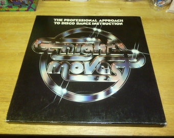 Night Moves DISCO Dance Instruction BOX SET and Book 1979