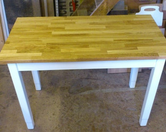Table, kitchen table, dining table, coffee table, made of old wood