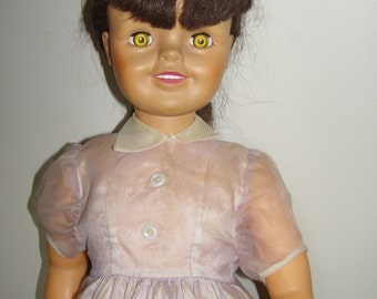"""TV Actress Angela Cartwright as Linda Williams (Make Room for Daddy) 30"""" Tall RARE SIZE!"""