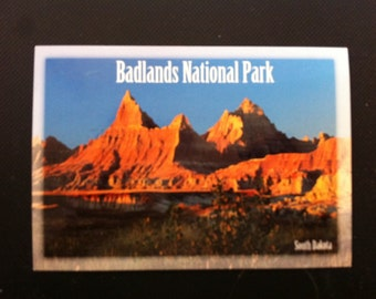 Badlands National Park Postcard, Souvenir Postcard