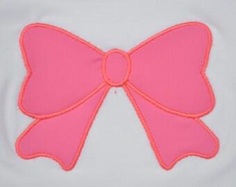 Bow Appliqué Add-On (Choose Fabric)