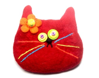 Red cat bag