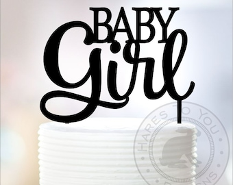Baby Girl Cake Topper - Baby Shower Cake Topper - Its a Girl - 66-108