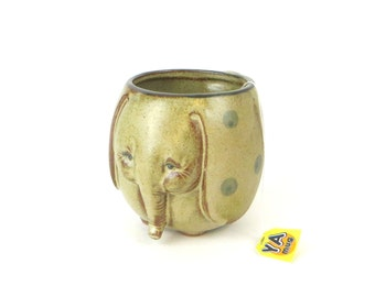 vintage elephant mug