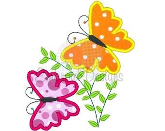Fluttering Butterflies Applique