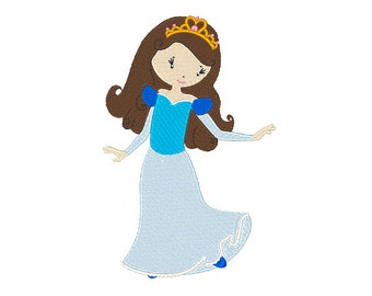 Princess Maria Machine Embroidery Design