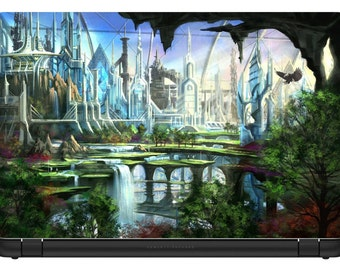 15.6 inch Fantasy City-Laptop Vinyl Skin/Decal/Sticker/Cover-LFC01