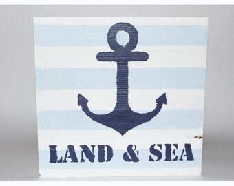 Land & Sea - Sign