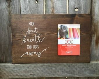 On Sale! Your First Breath Frame On Sale Now