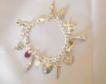 Handmade Outlander Charm Bracelet