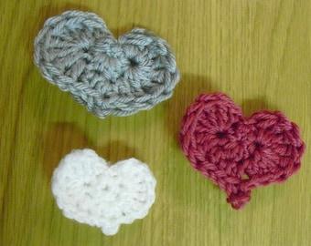 Instant Download - PDF- Beautiful Heart Motif Crochet Pattern (F6)
