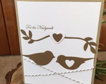 Handmade Card- Wedding