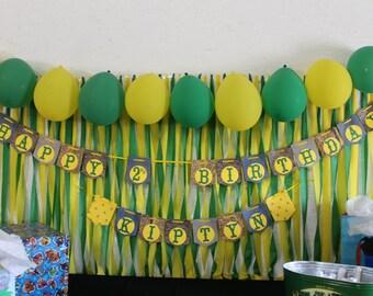 John Deere Birthday Banner