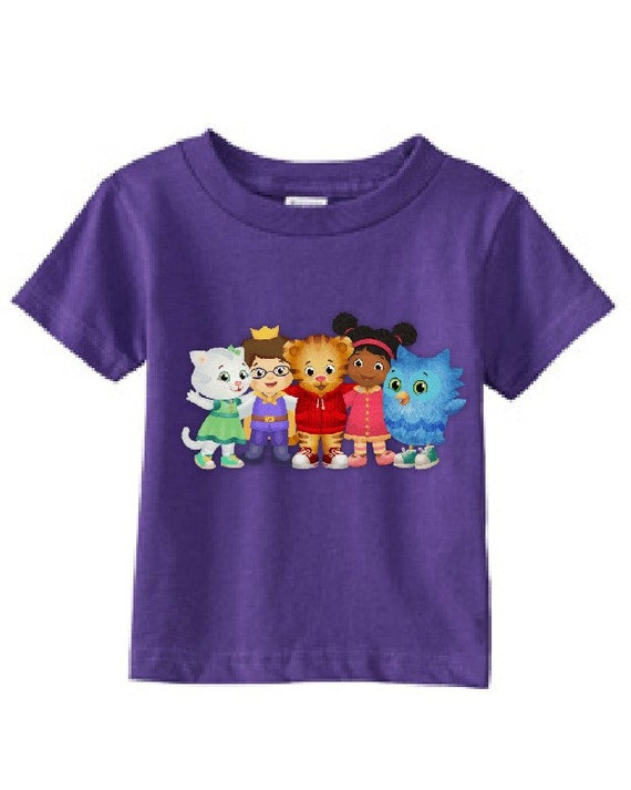 Daniel Tiger's Neighborhood Custom t-shirt Different by Attus