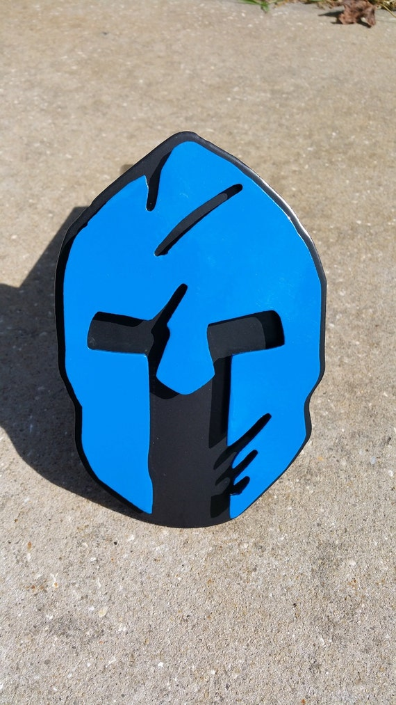Spartan trailer hitch cover police edition