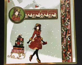 7x7 Christmas Walk Christmas Card
