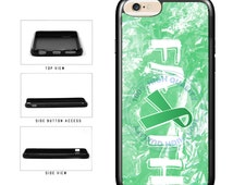 Liver Cancer Awareness Faith Ribbon - iPhone 4 4s 5 5s 5c 6 6s 6 Plus 6s Plus iPod Touch
