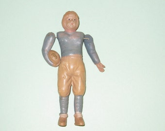 Vintage Celluloid Football Player Figure made in Japan