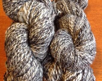 Handspun Yarn - Wool and acrylic blend DK weight
