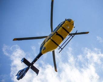 Star Flight Helicopter Overhead Photo